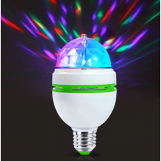 FOCO LED RGB DISCO E27 E27D