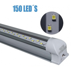 REGLETA LED 25W 2000 Lm 1.205 mts 4 pies COLOR BLANCO FRIO T8I002